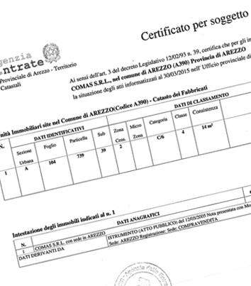 Certificati Catastali Richiesta Online Del Certificato Catastale