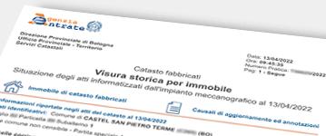 Ricerca visura catastale storica for Visura storica catastale